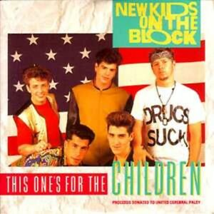 New kids on the blockThis one's for the children 4-track CARD SLEEVECD SINGLE