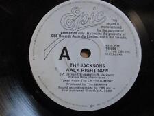 The Jacksons (Michael Jackson), Walk Right Now, rare Aust promo