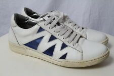 Pre-owned Marc Jacobs Sneakers Athletic Shoes Casual White Blue Solid Shoes Sz 8