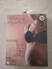 New Mothercare Blooming Marvellous and M2b Maternity Bras 2 Pack