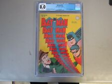 Batman #31 CGC 8.0 Comic Book  1945    1st App. Punch and Judy