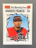 2019 Topps Heritage #190 Wander Franco RC Tampa Bay Rays