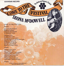 SEONA McDOWELL Come To The Festival / Cross Of The South 45