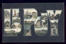 cpa Ecrite en 1915 Auvergne SOUVENIR  LE PUY en VELAY (Haute Loire)