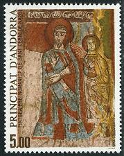Andorra French 342, MI 365, MNH.Medieval Fresco in St Cerni de Nagol Church,1985