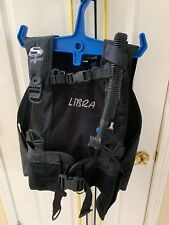 SEAQUEST LIBRA SCUBA DIVING BCD SIZE M/MEDIUM WITH BACK INFLATION