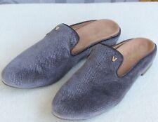 11 | Vionic Carnegie Holiday Gray Velvet Women Slip On Orthotic Flat Slide Shoe