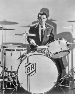 American Jazz Drummer BUDDY RICH Glossy 8x10 Photo Music Poster Print
