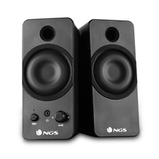 NGS SuperBass, USB Multimedia 2.0 Stereo Speaker System, Great for Gaming