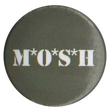 MOSH Thrash Metal Punk Grunge Alternative festival 1 inch pin badge MASH Parody