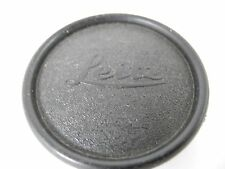 LEICA FRONT LENS CAP 49MM PLASTIC WITH LEICA LEITZ LOGO  VERY CLEAN