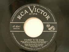Buddy Morrow pop 45 STAIRWAY TO THE STARS bw GREYHOUND RCA VG TO VG+