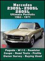 230Sl 250Sl 280Sl Mercedes Benz W113 Pagoda 1963-1971 Road Test Book