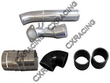 Cold Air Intake Pipe Kit For RX7 RX-7 FDStock Twin Turbo 92-02 Black