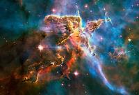 Landscape in the Carina Nebula 75cm x 51cm High Quality Canvas Print