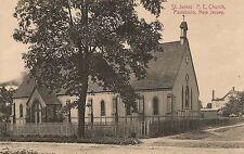 St. James P.E. Church in Paulsboro NJ Postcard