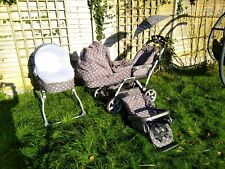 Mamas And Papas Ultima Duette Twin Pram Buggy Travel System Cot RRP £1329+