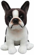 More details for boston terrier toy dog gift/present 30cm plush soft cuddle puppy
