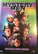 Dvd: Mystery Men! Ben Stiller! William H. Macy! Hank Azaria! Superhero!