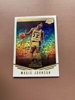 2016-17 Panini - Studio Basketball: Magic Johnson Lakers Card