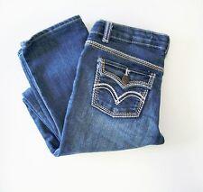 Levi's Girls Thick Stitch Skinny Jeans Wading Waters Sz 16R - NWT