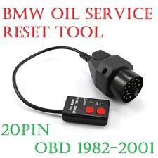 BMW E30 E34 E36 E39 Z3 X5 1982-2001 Sockets Oil Service Reset Tool 20 Pin Lead