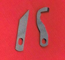 Overlock superiore & sotto-Set di coltelli per BROTHER 925d, 929d, 935d, 1034d #3156
