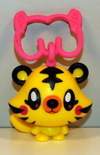 """2012 Yellow Jeepers 2"""" Moshi Monsters Clip-On McDonalds #7 Action Figure Toy"""