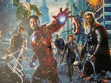 CAPTAIN AMERICA Avenger Signed Autograph HEMSWORTH Tom Hiddleston Cobie Smulders