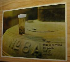 Vintage Poster Head Smoke Shop Medical Marijuana 420 drugs groovy trippy 1970's