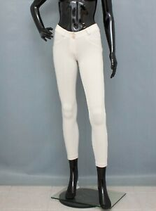 FREDDY WR.UP Trousers Ivory Shaping Pants XS UK 6