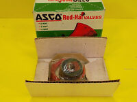 ASCO 099-216-1-D SOLENOID AND AIR-CONTROLLED 2,3 AND 4 RED-HAT VALVE NIB
