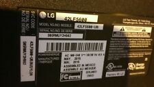 LG TV 42LF5600 (may 2015) for  parts cracked screen