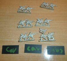 Warmaster • Undead Calvary Full Unit Warhammer Tomb Kings Games Workshop