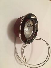 Range Hoods HALOGEN light 20W 12V Chrome ring Made in Italy