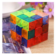 Speed  Professional  Gift Twist  Cube  Puzzle  Ultra-smooth Transparent  Magic