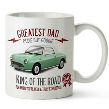 Personalised Nissan Figaro Green Car Mug Best Dad Cup Fathers Day Gift CLD41