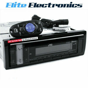 JVC KD-R991BT CD RECEIVER BLUETOOTH USB AUX IPHONE IPOD STEREO ANDROID SPOTIFY