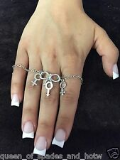 Threesome FMF bracelet Anklet Hotwife Swinger Lifestyle BBC Jewelry Cuckold 04