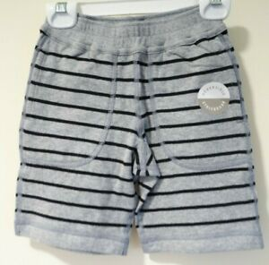 Brand New Hanna Andersson Reversible Knit Shorts Boy's Size 90 / 3