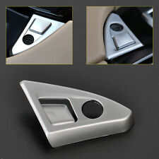 Chrome Inner Center Console Armrest Button Cover Trim for BMW 5 F10 F18 11-2016