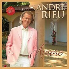 ANDRE RIEU AMORE CD & DVD (Released 24/11/2017)