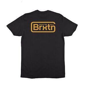 BRIXTON SPRINGFIELD S/S TEE SHIRT BLACK