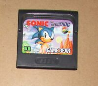 Sonic the Hedgehog for Sega Game Gear Fast Shipping Authentic