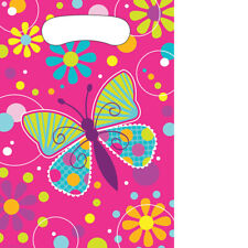 Butterfly Sparkle Birthday Party Cups Plates Napkins Invites Loot Bags Balloons