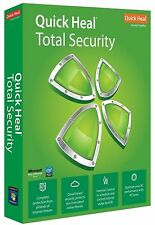 Quick Heal Total Security Latest Antivirus 1 User ( 1 PC ) 1 Year (Key+Copy CD)