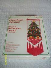 Vintage Vogart Crafts - Wall Hanging Craft Kit (rug latch) - NIB Factory Sealed
