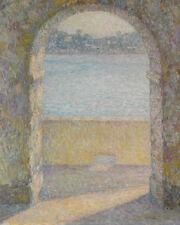 The Door Of The Sea Henri  Le Sidaner   24'  CANVAS