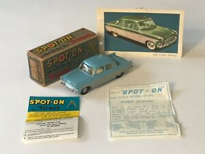 TRI-ANG SPOT-ON 100 FORD ZODIAC MINT IN BOX