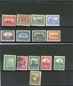 Newfoundland 1923 Scott# 145-159 mint (og)/canceled